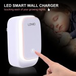 LDNIO 4USB Wall Charger with LED Night Lamp